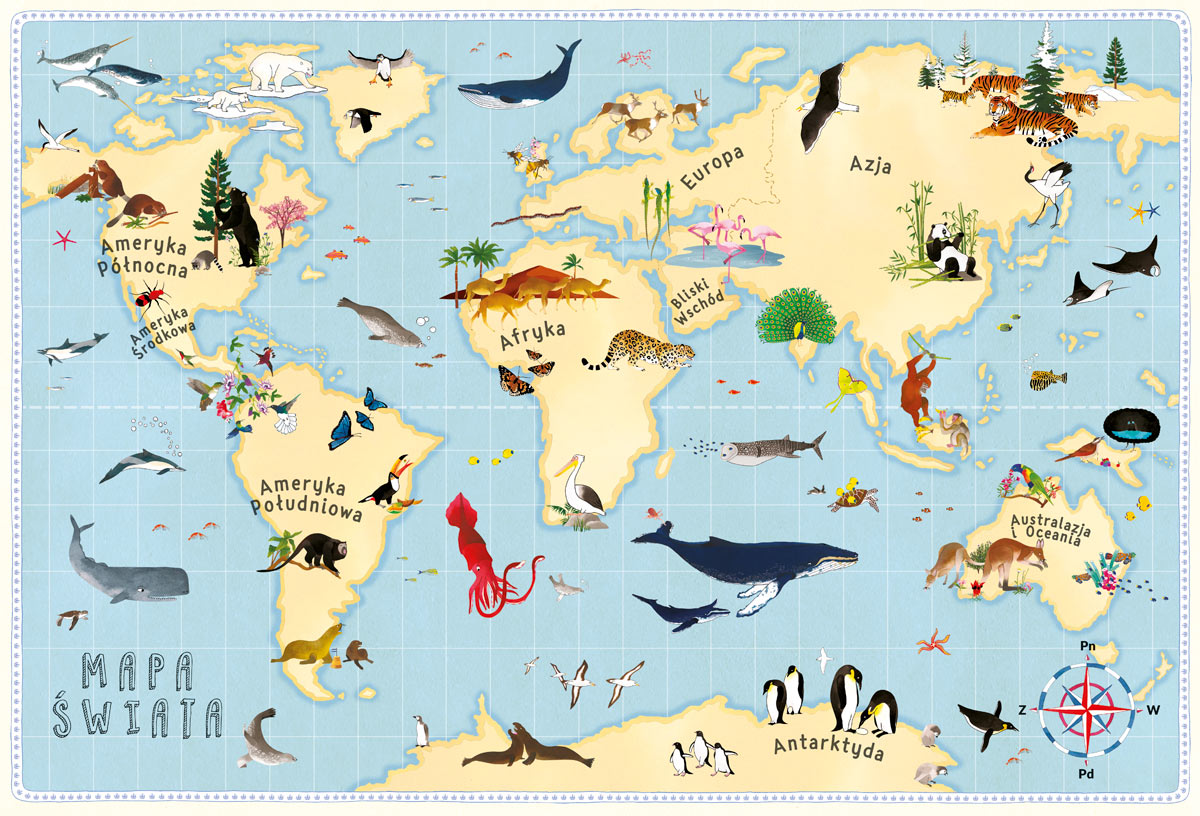 Atlas przygód zwierząt - Wydawnictwo NASZA KSIĘGARNIA
