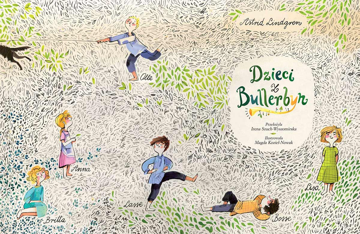 Dzieci Z Bullerbyn Wydawnictwo Nasza Ksiegarnia