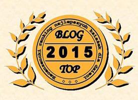 Złoty BLOG TOP 2015